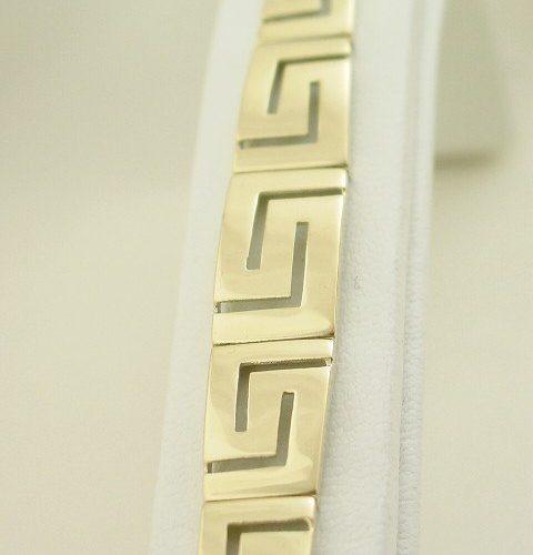 Greek Key bracelet-Meander bracelet-Greek Jewelry-Greek key gold bracelets