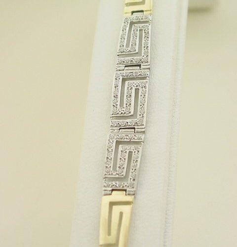 Greek Key bracelets-Meander bracelet-Greek Jewelry-Greek key gold bracelets
