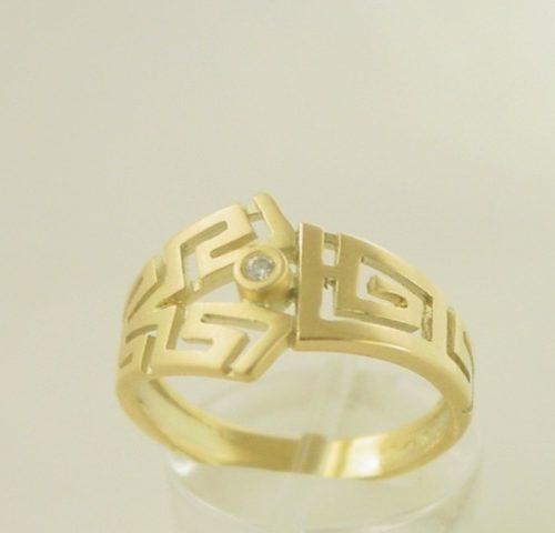 Greek Key ring-Greek jewelry GKRI 519