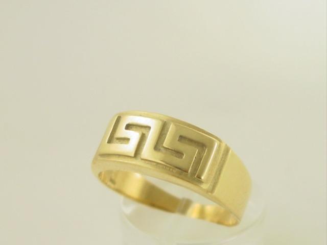 Greek Key ring-Greek jewellry GKRI 531