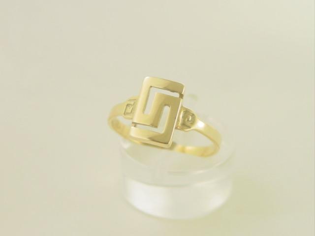 Greek Key ring-Greek jewellry GKRI 634