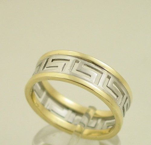 Greek key rings-Greek Jewelry-Meander ring-Greek jewellery-Greece