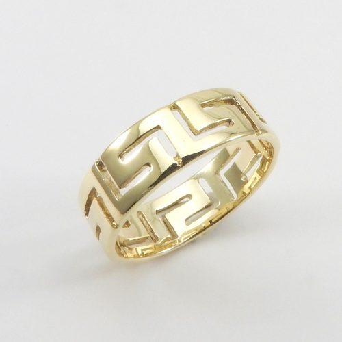 Greek Key Rings