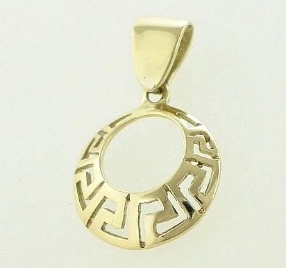 Greek key pendants-Meander pendant-Greek Jewelry-Greek jewellery