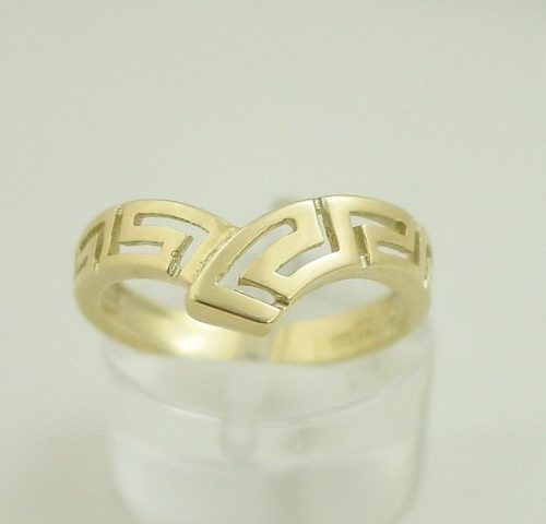Greek key rings images, Meander ring, Greek Key jewelry, Greek jewelry 14K gold, Greek key rings designs, 14Κ, 18Κ gold rings, Greek gold com, Greek key rings collection