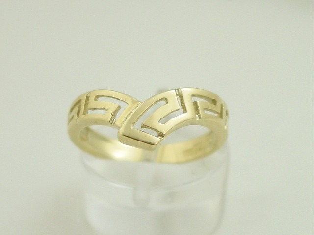 Greek key rings, Greek gold rings, Meander rings, Greek key rings designs, 14Κ, 18Κ gold rings, Specialists in Greek key jewelry, Greek key rings collection