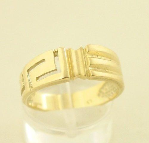 Greek key rings, Greek gold rings, Meander rings, Greek key rings designs, 14Κ, 18Κ gold rings, Specialists in Greek key jewelry, Greek key rings collection