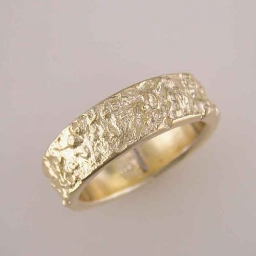 Gold plated sterling silver ring, Nature branch rings, Alexandra's collection, Greek gold Jewelry shop AC-GS-RI-001