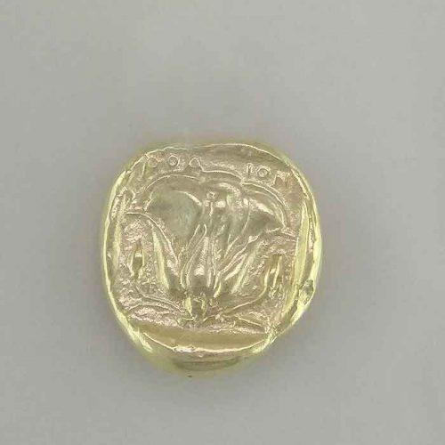 Ancient Greek silver coin pendants, Apollo-Helios Sun God coin pendant, Ancient Greek silver coin, Ancient Greek jewelry, Museum ancient jewelry reproductions