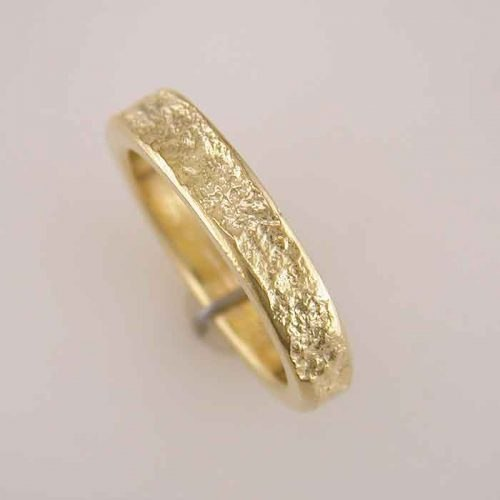Gold plated sterling silver ring, Nature branch rings, Alexandra's collection, Greek gold Jewelry shop
