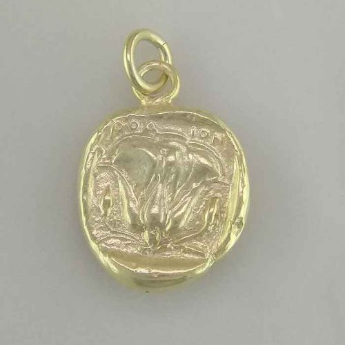 Apollo-Helios God silver coin, Greek jewelry shop, Ancient Greek silver coin pendant. Greek Gold Jewelry, Ancient, Apollo-Helios God coin.Greekgold.com