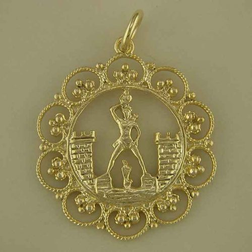 Rhodian pendants-Greek-gold-jewelry- sterling-silver-gold-plated-Greek-jewelry-shop- rhodian pendant, filigree pendant, handmade pendants