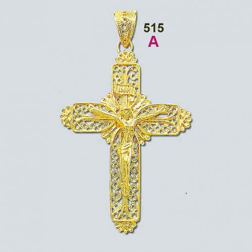 Byzantine - gold - crosses - Byzantine crosses - Greek - 18K gold - filigree crosses - Orthodox baptismal cross - Greek jewelry - Greek crosses - gold crosses