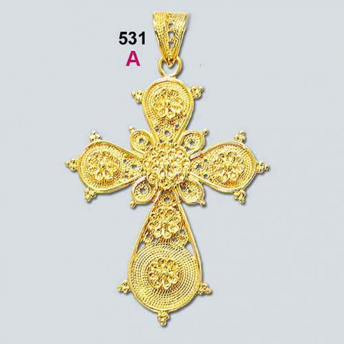 Byzantine gold cross, Greek jewelry, Jewelry from Greece, 18K gold, filigree crosses, Orthodox baptismal cross, Greek crosses