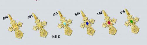 Byzantine Cross-Orthodox cross-Greek Jewelry-Baptism cross