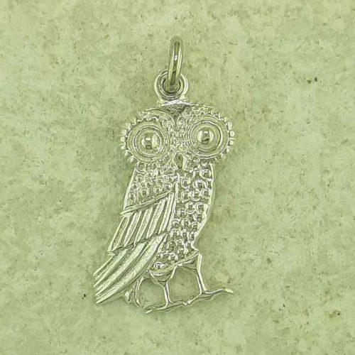 Ancient Greek silver coin pendants, Goddess Athena & Wise Owl coin pendant, Ancient Greek silver coin, Ancient Greek jewelry, Museum ancient jewelry reproductions