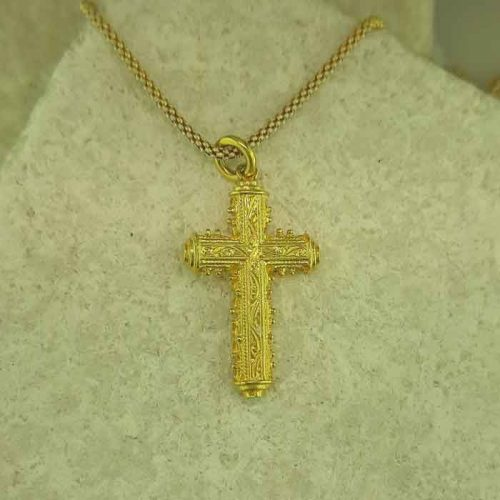 Greek gold crosses, Greek traditional crosses of Rhodes, Greek traditional filigree crosses jewelry of Rhodes, traditional Rhodes jewelry, filigree gold crosses of Rhodes, traditional Greek jewellery