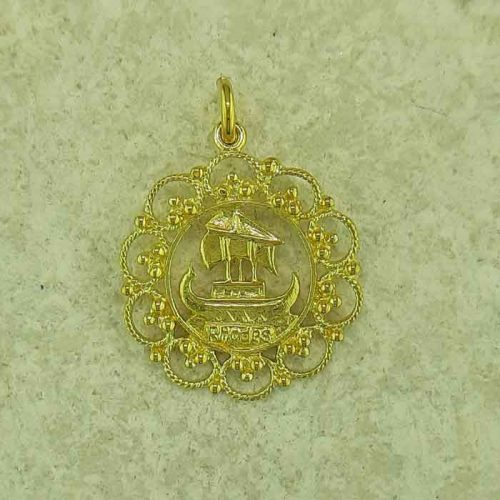 Ship of Lindos Rhodes pendant, Greek traditional filigree Rhodes jewelry gold plated & silver pendants, traditional Greek silver pendants, traditional Greek jewelry