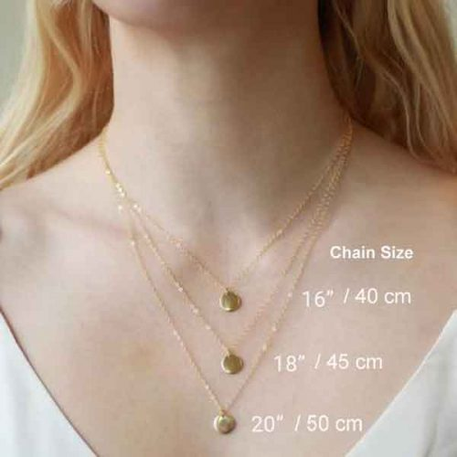 Silver chain, gold plated sterling silver 925 chain