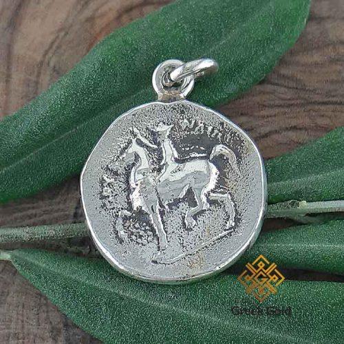 Philip II Macedon coin-Ancient Greek coin pendants –Ancient silver coin pendant-Greek Jewelry-Greek pendants-Greek museum reproduction